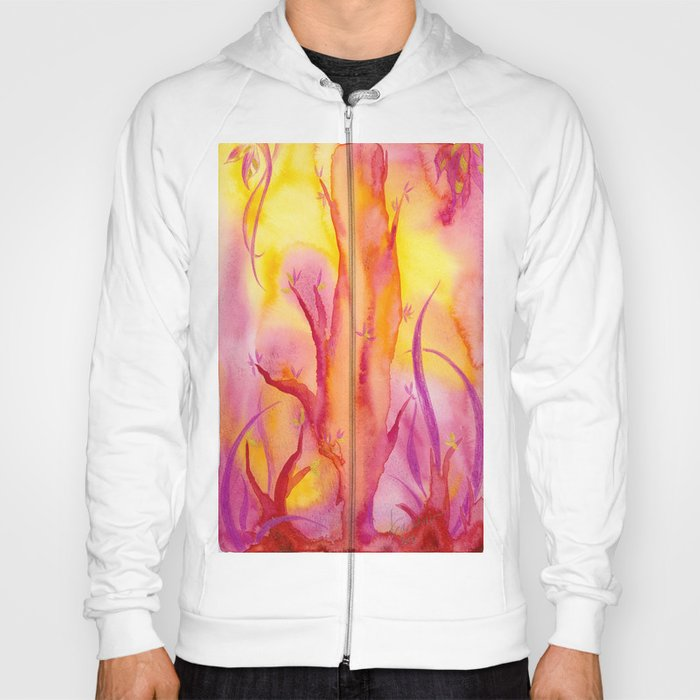 ABSTRACT - Magic Forest Hoody