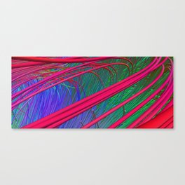 Fibers Crossing Canvas Print