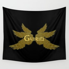 Archangel Gabriel Wings Wall Tapestry