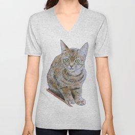 Sensitive Cat Unisex V-Neck