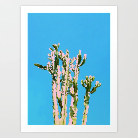 Cactus Beauty #cactus #society6 #decor #buyart Art Print