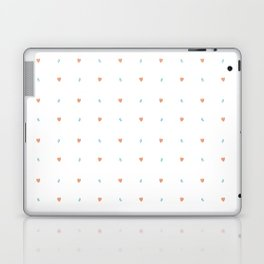 Hearts and dots Laptop & iPad Skin
