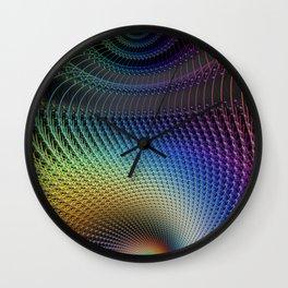 Line Spectrum Wall Clock