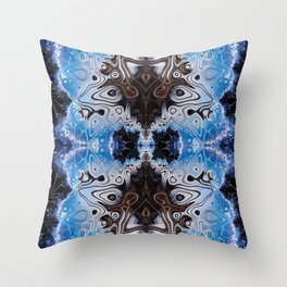 BBQSHOES: Fractal Design 103985 Throw Pillow