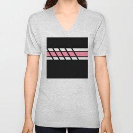 Team Colors 4....Pink Unisex V-Neck