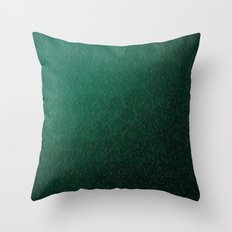 modern digital abstractes pattern in delicate mint, turquoise Throw Pillow