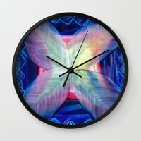 fifth harmony Wall Clocks featuring Harmony by Vargamari