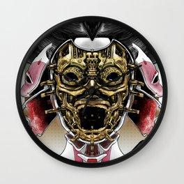 Robot Geisha V2 Wall Clock