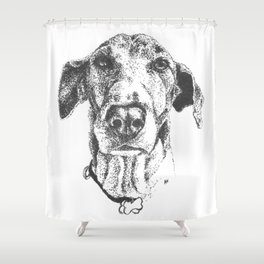 'Sup, dawg? Shower Curtain
