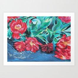 Tulip Bloom Art Print