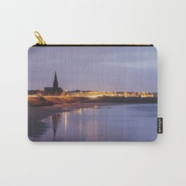 Tynemouth Church at dusk twilight. Northumberland, UK. Carry-All Pouch