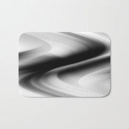 DREAM PATH (Black, Grays & White) Bath Mat