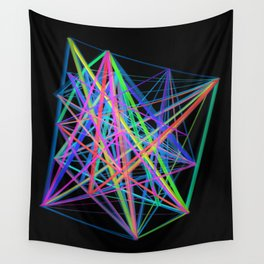 Colorful Rainbow Prism Wall Tapestry
