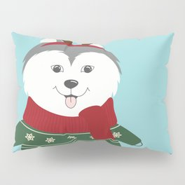 Happy Pet in Ugly Christmas Sweaters Pillow Sham