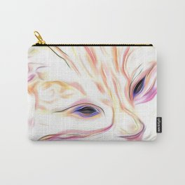 Pink & Coral Cat Carry-All Pouch
