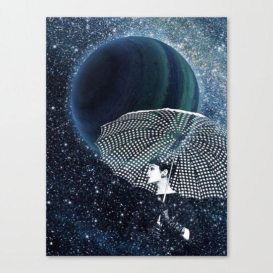Sparkling stars Canvas Print
