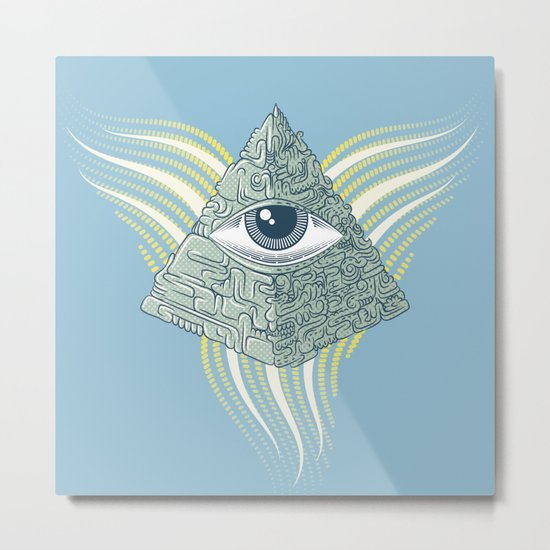 Spiritual resolution Metal Print
