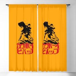 001 Cowboy Bebop Trio Blackout Curtain