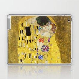 The Kiss - Gustav Klimt, 1907 Laptop & iPad Skin