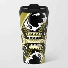Queen Of Cali white Metal Travel Mug