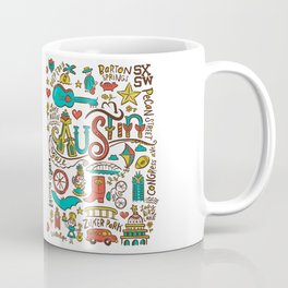 Austin Icons Coffee Mug