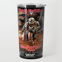 Iron Mando Tour vintage poster Travel Mug
