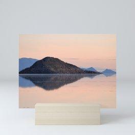Salar de Uyuni 3 Mini Art Print