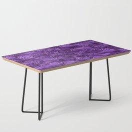 Marbled Paisley - Purple Coffee Table
