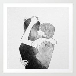 Feel me your world. Art Print