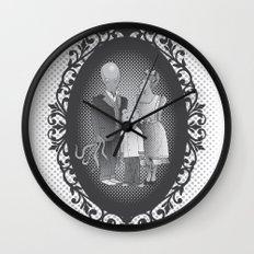 Framed family portrait Wall Clock