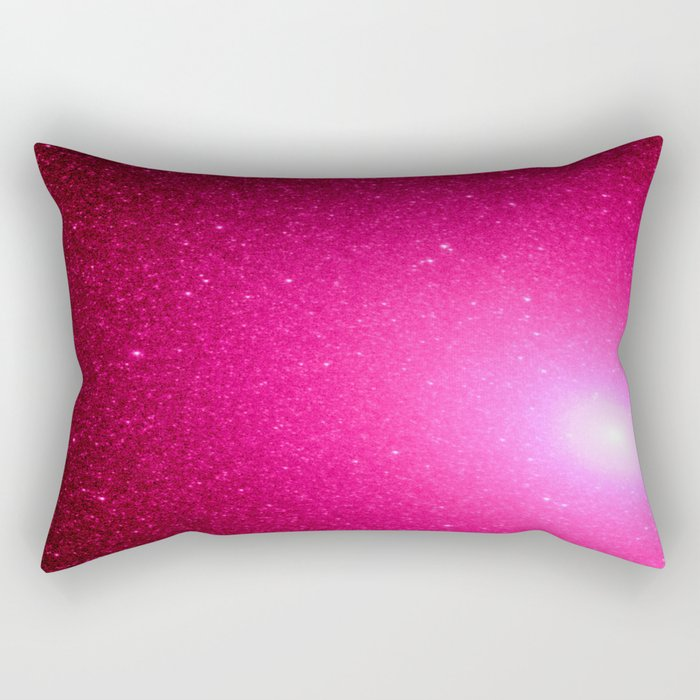 Pink Stars Rectangular Pillow