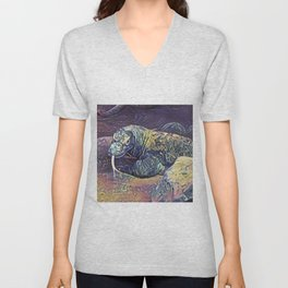 Komodo Dragon Unisex V-Neck