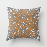 maori Throw Pillows featuring Maori Polynesian Style by Lonica Photography & Poly Designs