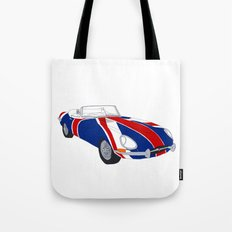 Shaguar (on White) Tote Bag