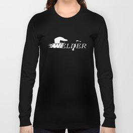 Welder Long Sleeve Welding Occupation Welder T-Shirts Long Sleeve T-shirt