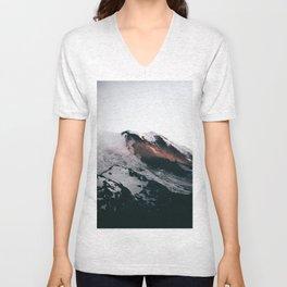 Mount Rainier VII Unisex V-Neck