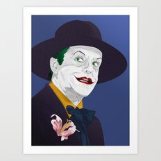 Joker Nicholson Art Print