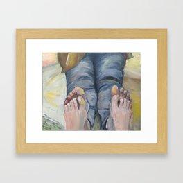 Boko maru painting Framed Art Print