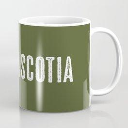 Deer: Nova Scotia, Canada Coffee Mug