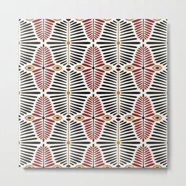 African Styles Pattern 8 Metal Print