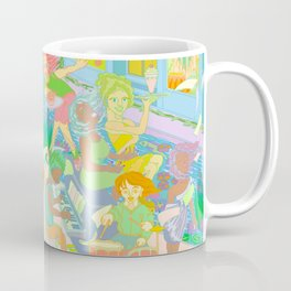 Musical Wind Coffee Mug