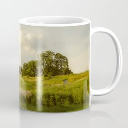 Rural / Farmhouse Landscape Photo Remnant of Better Days - Nature - Country - Meadow Coffee Mug