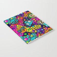 Retro Bear Picnic Notebook