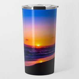 outstanding sunset Travel Mug