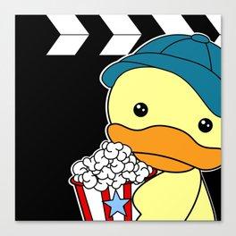 Movie Duck boy Canvas Print