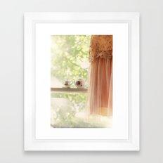 Teapots Framed Art Print