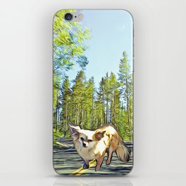 Stewie in the Forest iPhone Skin