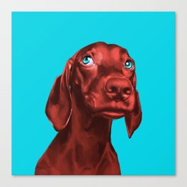 The Dogs: Guy 2 Canvas Print