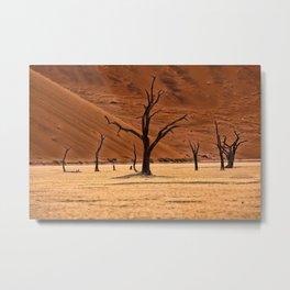 Dead Vlei, Namibia Metal Print