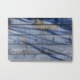 Shadowed Panels Metal Print